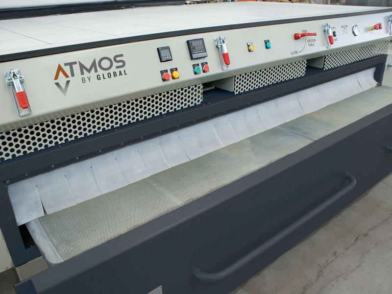 vakuumpresse vorheizstation atmos global crossflow professional schublade 800x600