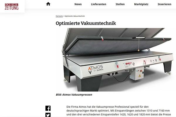 atmos vakuumpresse schreinerzeitung im fokus der branche optimierte vakuumtechnik heft41 2020 seite21 600x400